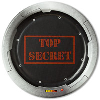 Top Secret Spy Dessert Plates (8)