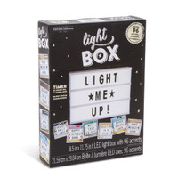 Lighted Message Box