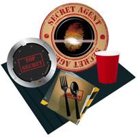 Top Secret Spy 16 Guest Party Pack