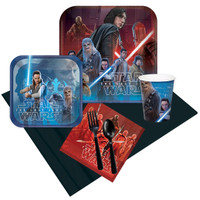 Star Wars Episode VIII 24 Guest Party Pack