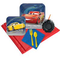 Disney Car  3 - 16 Guest Party Pack Plus Molded Cups