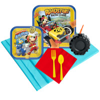 Mickey Roadster 16 Guest Party Pack Plus Molded Cups