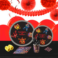 Five Nights at Freddy's 16 Guest Tableware & Deco Kit