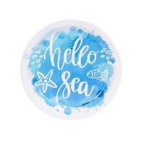 Coastal Sea Hello Sea Dessert Plate (8)