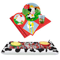 Barnyard Tableware & Cooler Kit