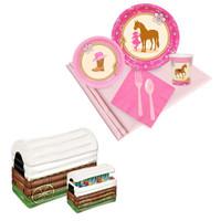 Western Cowgirl Tableware & Cooler Kit