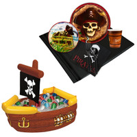 Pirates Tableware & Cooler Kit
