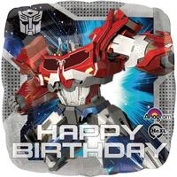 Transformers Happy Birthday Foil Balloon