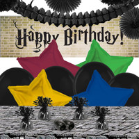 Wizard Express Deco Kit with Birthday Banner