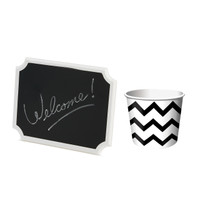 Treat Cup & Chalkboard Sign