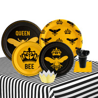 Queen Bee 16 Guest Party Pack + Mini Crowns