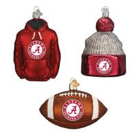 Alabama Football Christmas Ornaments (3)