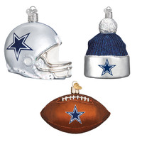 Dallas Cowboys Christmas Ornaments (3)
