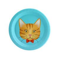 Cats Meow Orange Cat Dessert Plate (8)