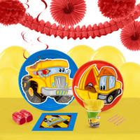 Construction Pals 16 Guest Tableware & Deco Kit