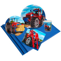 Farm Tractor 24 Guest Party Pack