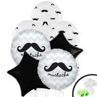 Mustache Man Balloon Bouquet