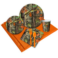 Hunting Camo 16 Guest Party Pack
