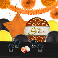 Safari Animal Adverture Deco Kit