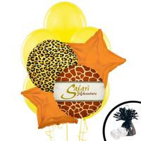 Safari Animal Adverture Balloon Bouquet