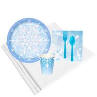 Winter Wonderland 8 Guest Party Pack