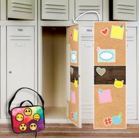 Cork Locker Decal & Emoji Patches