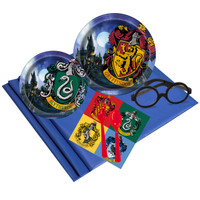 Harry Potter 16 pc Guest Pack Plus Wizard Glasses