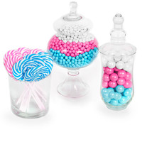Gender Reveal Candy Kit Pink Blue White