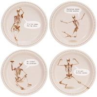 Skeleton Assorted Appetizer Plates (32)