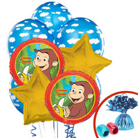 Curious George Balloon Bouquet