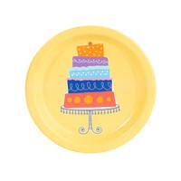 Playful Pom Pom Cake Dessert Plate (8)