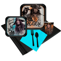 Pirates of the Caribbean 24 Guest Party Pack