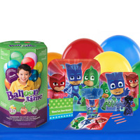 PJ Masks 16 Guest Party Pack and Helium Kit