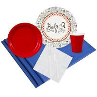 Baby-Q 24 Guest Party Pack