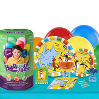 Dr Seuss Favorites 16 Guest Party Pack and Helium Kit