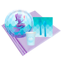 Mermaids Under The Sea 8 Guest Party Pack