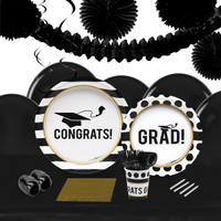 Graduation Party 16 Guest Party Pack