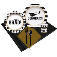 Graduation Party 24 Guest Party Pack