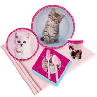 Rachaelhale Glamour Cats 24 Guest Party Pack