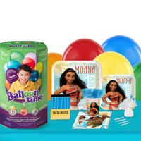 Disney Moana 16 Guest Party Pack and Helium Kit
