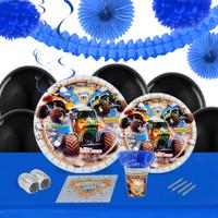 Monster Jam 3D 16 Guest Tableware & Deco Kit