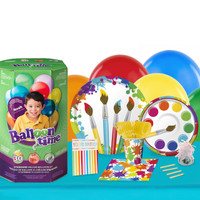 Art Party 16 Guest Kit with Tableware and Helium Kit