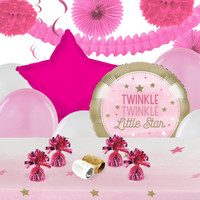 winkle Twinkle Little Star Pink Deco Kit