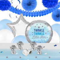 Twinkle Twinkle Little Star Blue Deco Kit