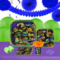 Teenage Mutant Ninja Turtles 16 Guest Tableware & Deco Kit