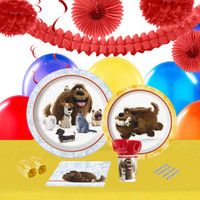 Secret Life Of Pets 16 Guest Tableware & Deco Kit