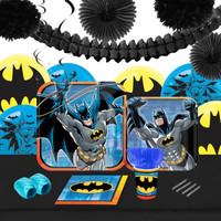 Batman 16 Guest Tableware & Deco Kit
