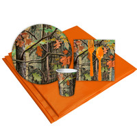 Hunting Camo 8 Guest Party Pack