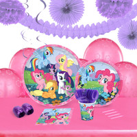 My Little Pony Friendship Magic 16 Guest Tableware & Deco Kit