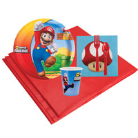 Super Mario Brothers 8 Guest Party Pack